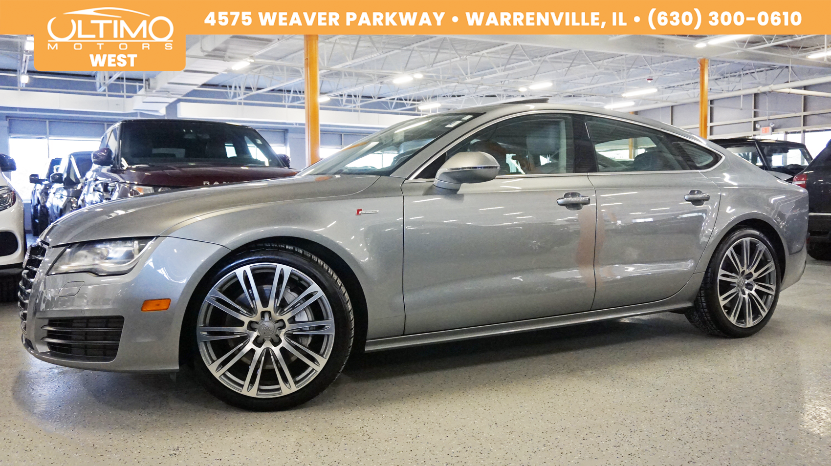 Pre-Owned 2012 Audi A7 3.0 Premium Plus Nav Rear-Camera, Side Assist, 20-Wheels