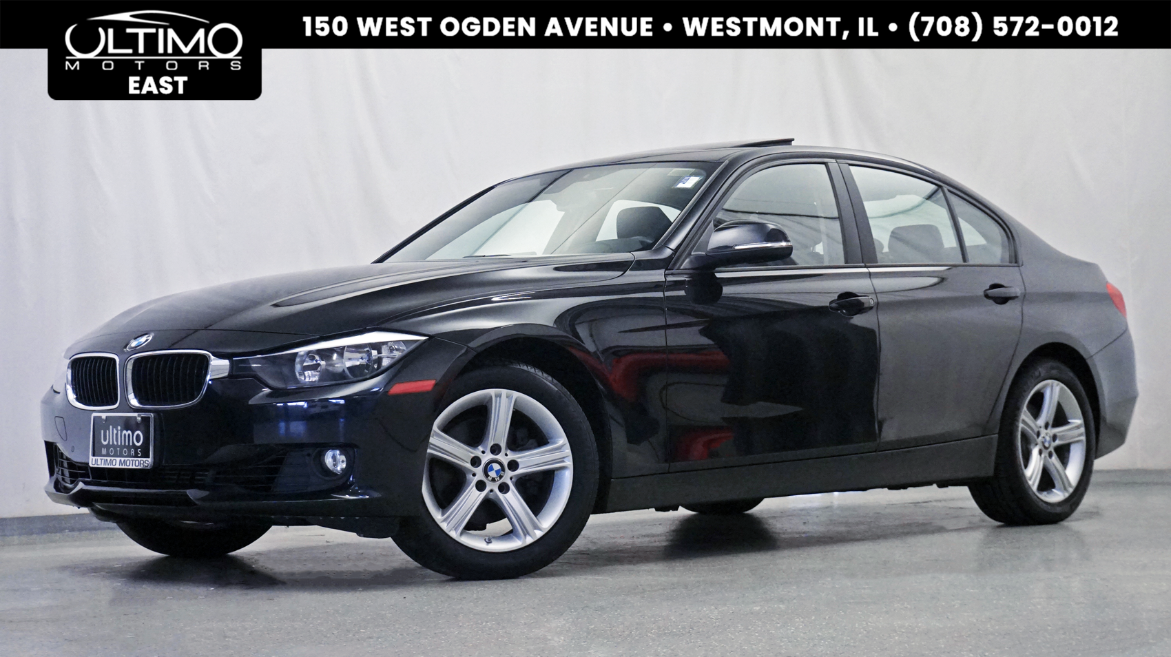 Pre-Owned 2015 BMW 3 Series 328i xDrive Premium Pkg, Driver Assist Pkg, Heated Seats, Navigation