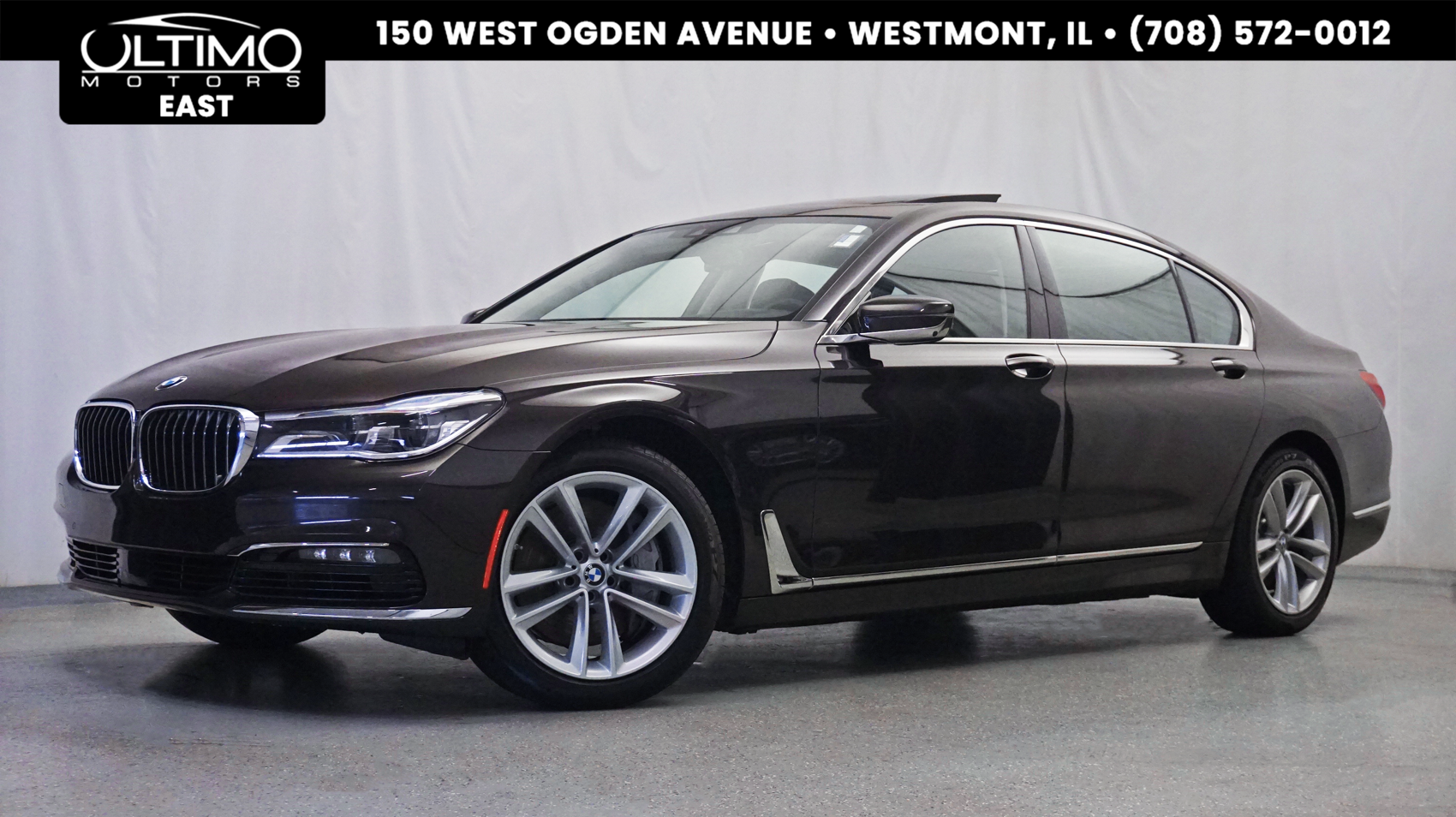pre-owned 2017 bmw 7 series 750i xdrive executive pkg, driver