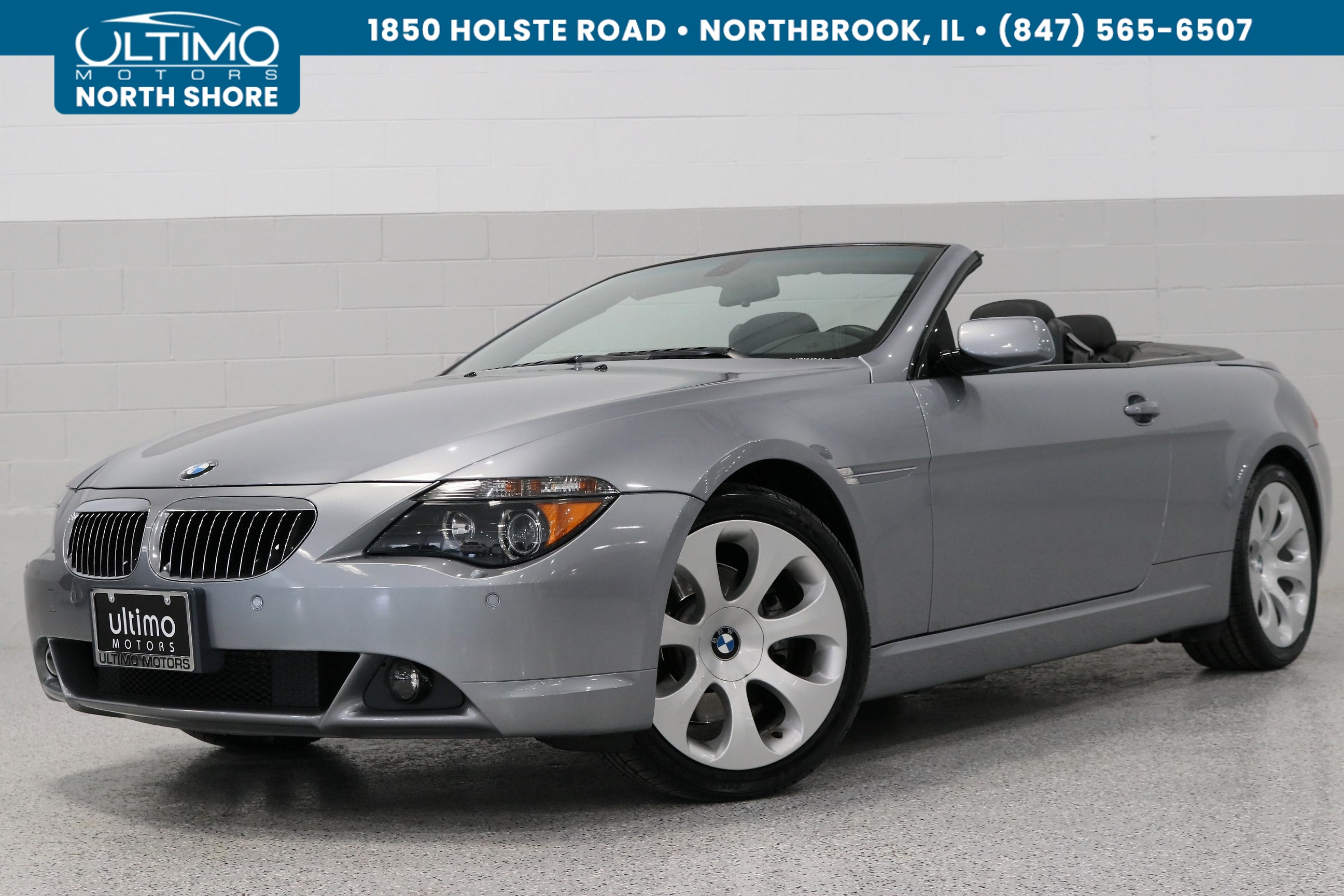 Pre-Owned 2005 BMW 6 Series 645Ci, Cold Weather, Sport Package, Premium Sound