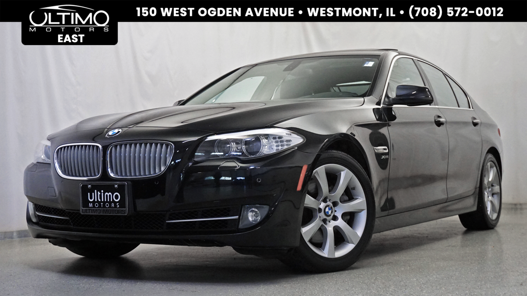Pre-Owned 2011 BMW 5 Series 550i xDrive Premium Pkg, Cold Weather Pkg, Convenience Pkg 400HP