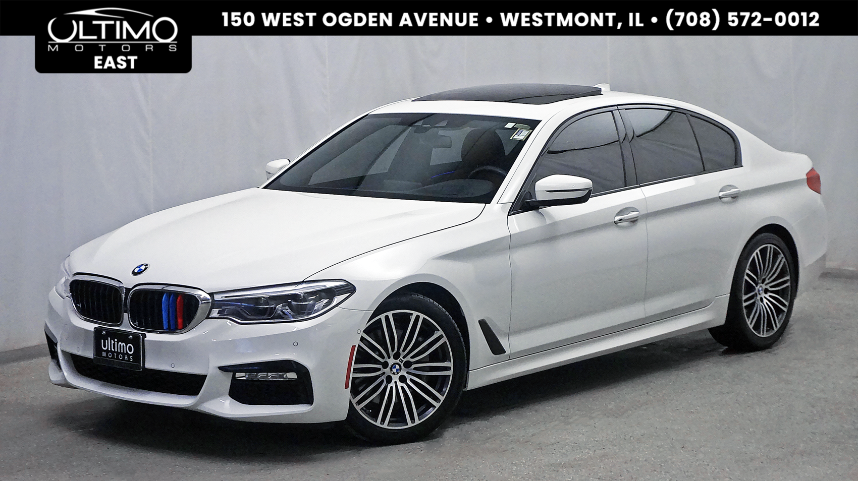 Pre-Owned 2017 BMW 5 Series 540i xDrive M Sport Package