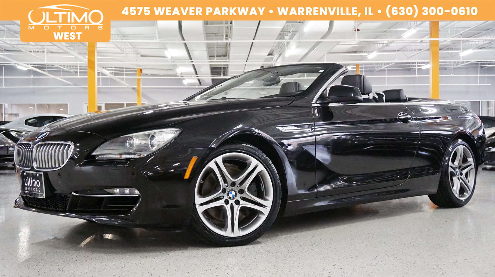 Pre-Owned 2012 BMW 6 Series 650i xDrive Navi, Rear Camera, Luxury Seating MSRP $98,175
