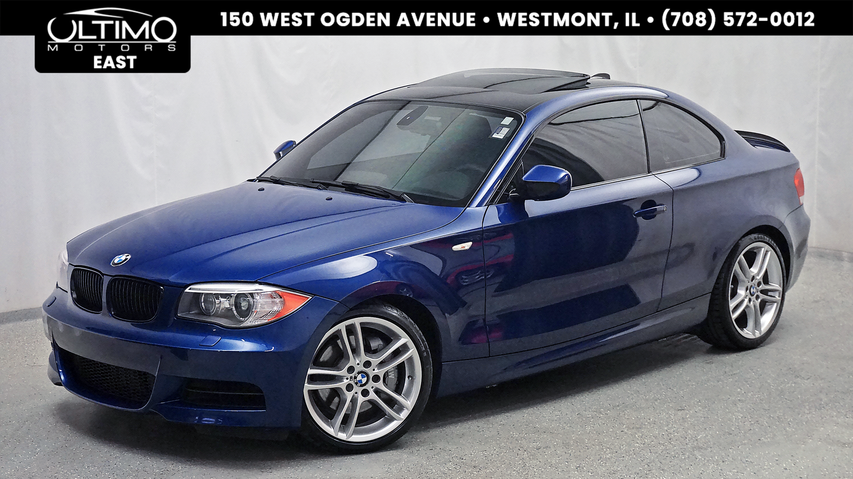 Pre-Owned 2012 BMW 1 Series 135i M Sport Package! Navigation, Bluetooth
