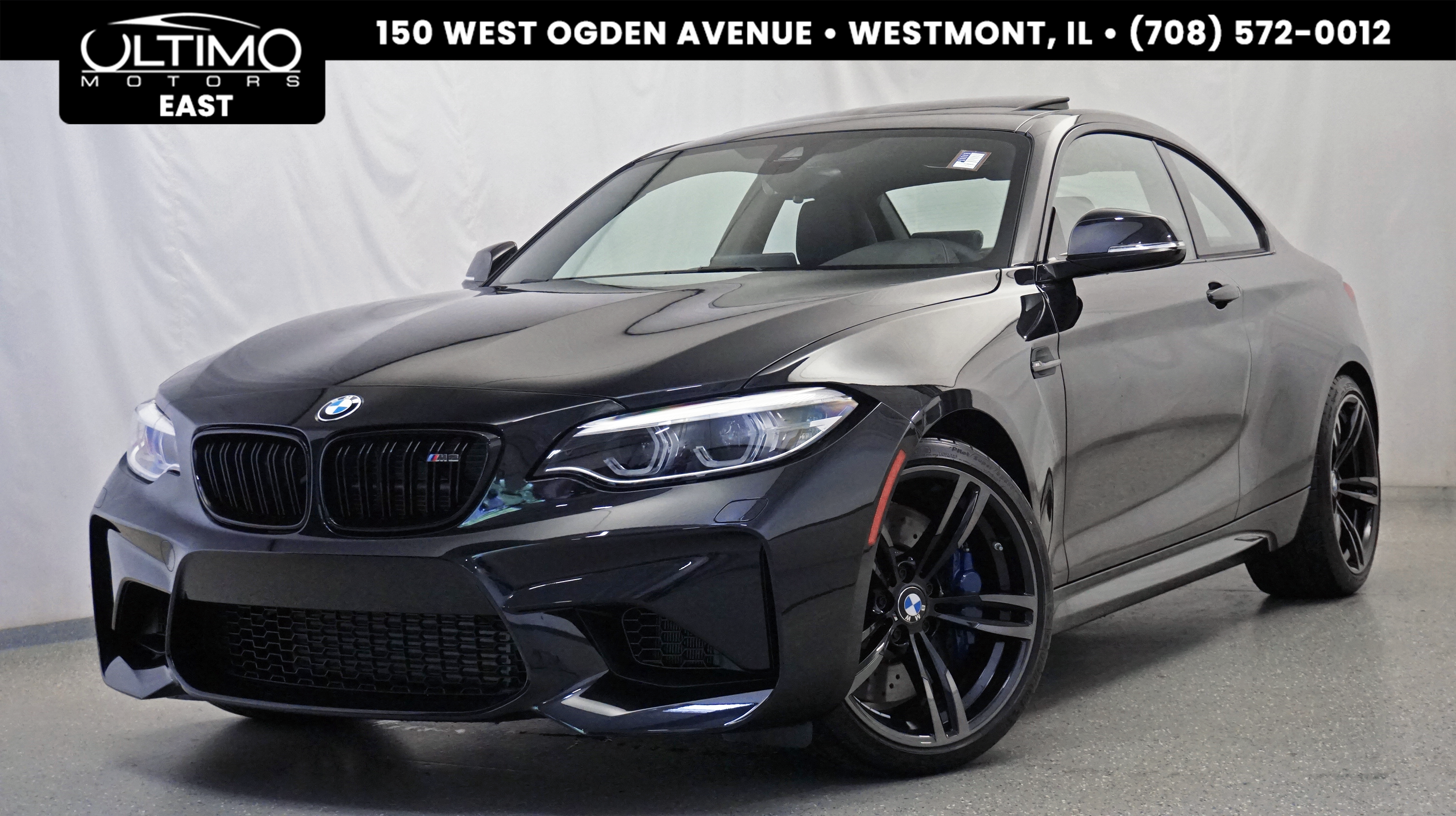 Pre Owned 2018 Bmw M2 Executive Pkg Driver Assistance Package Coupe