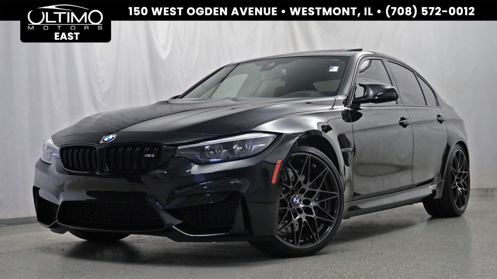 Pre-Owned 2018 BMW M3 Competition Package, Executive Package, Driver Assistance Package $83,595 MSRP