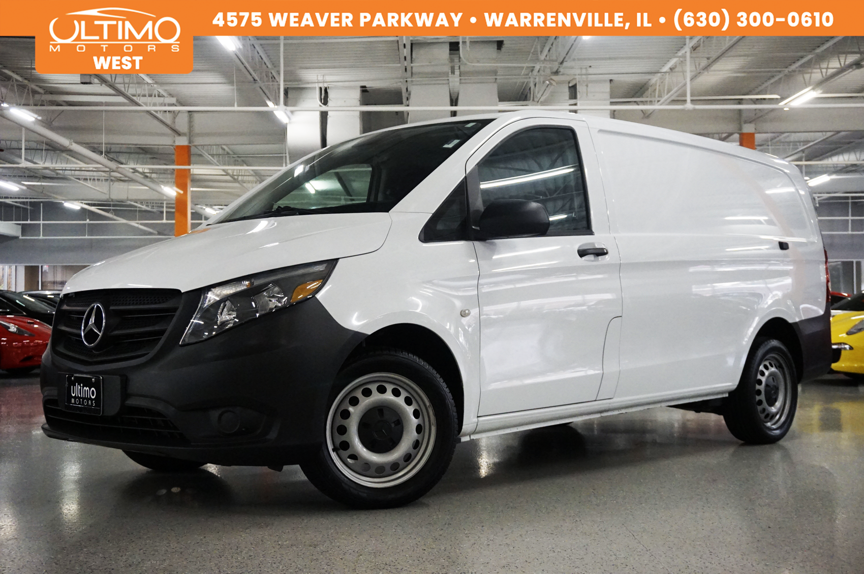 Pre Owned 2016 Mercedes Benz Metris Cargo Van
