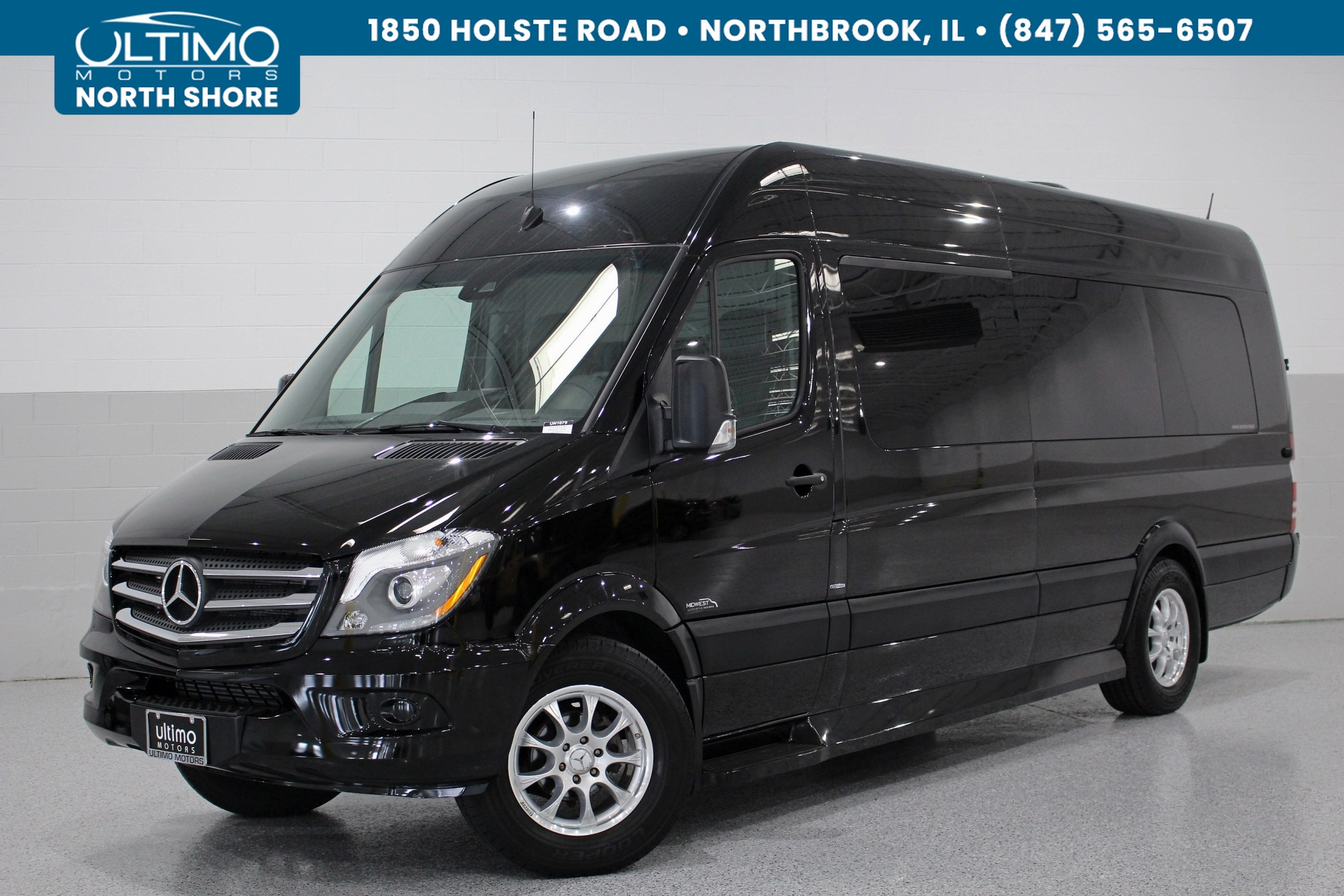 Pre Owned 2016 Mercedes Benz Sprinter Custom Limousine