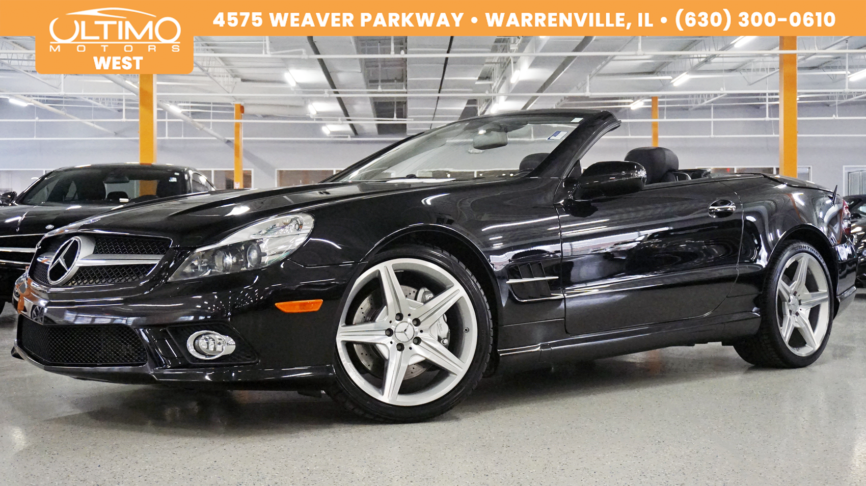 Pre-Owned 2009 Mercedes-Benz SL-Class V8, AMG® Sport Package