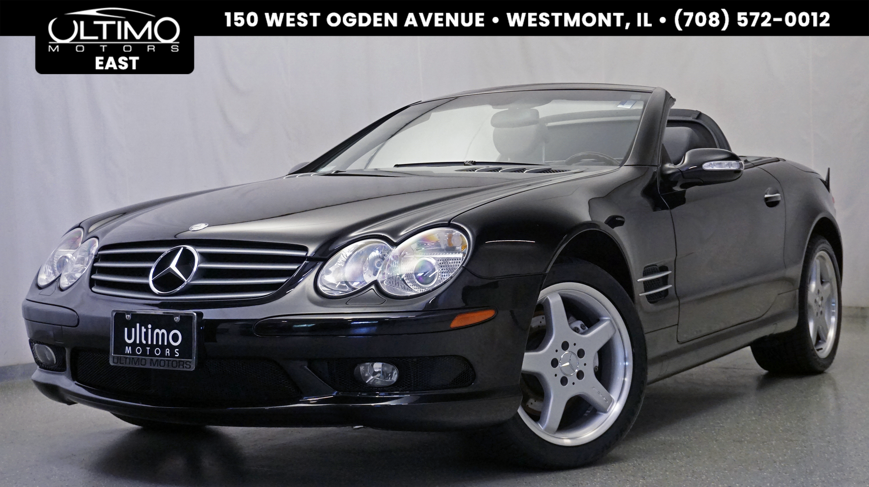 Pre Owned 2003 Mercedes Benz SL Class SL500 Navigation, Heated U0026 Vent