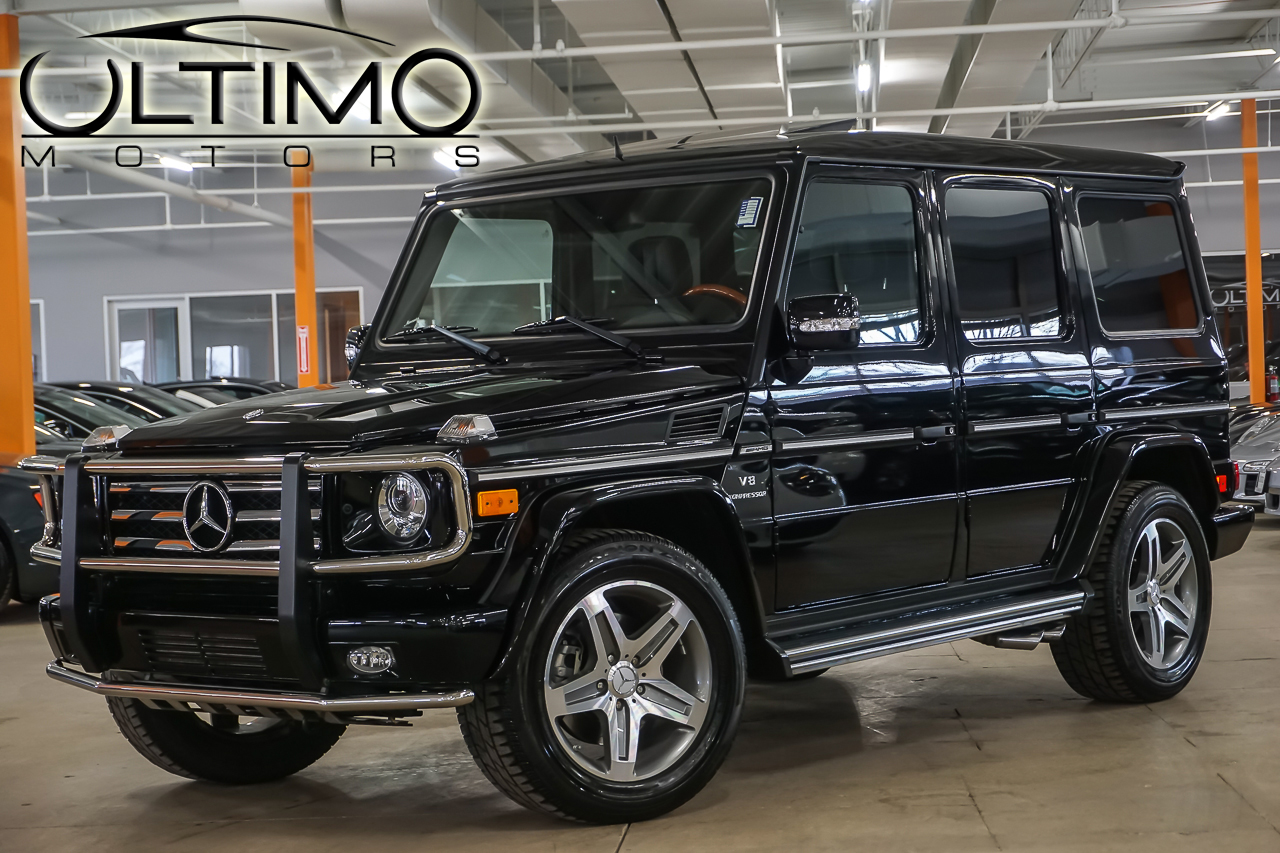pre owned 2011 mercedes benz g class g55 amg suv in warrenville u1965 ultimo motors. Black Bedroom Furniture Sets. Home Design Ideas