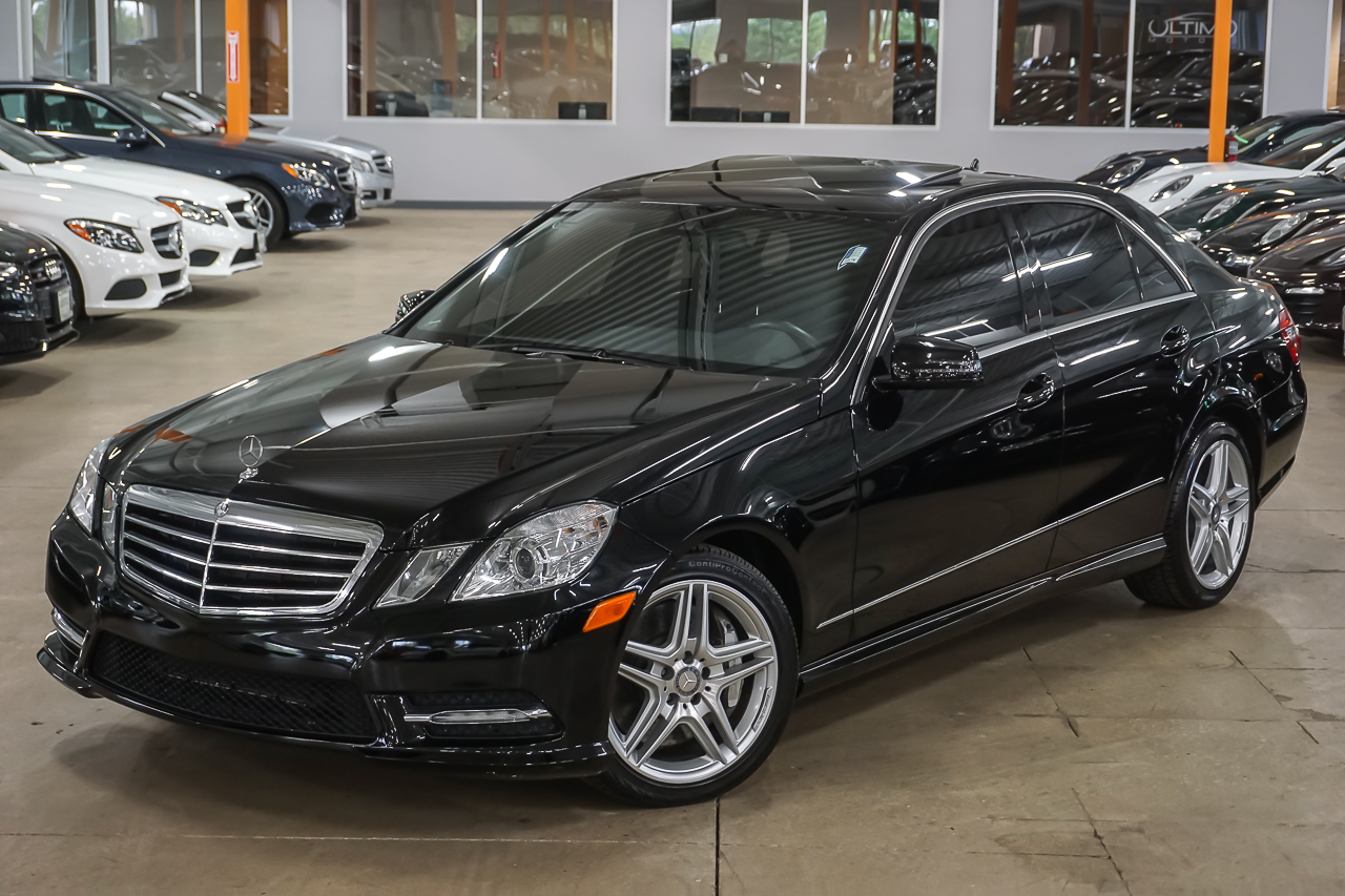 Pre owned 2013 mercedes benz e class e550 sport sedan in for Pre owned e class mercedes benz