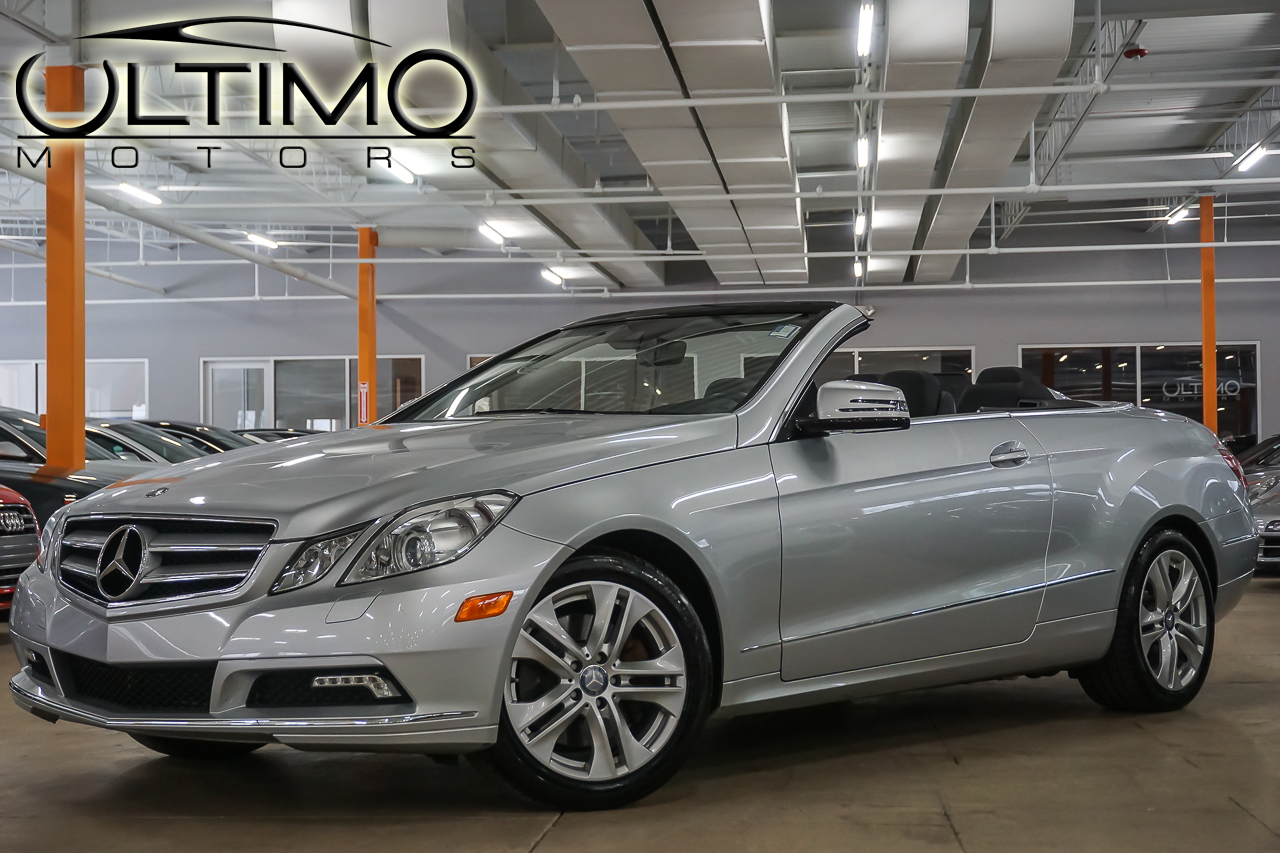 Pre owned 2011 mercedes benz e class e350 convertible for Mercedes benz pre owned inventory
