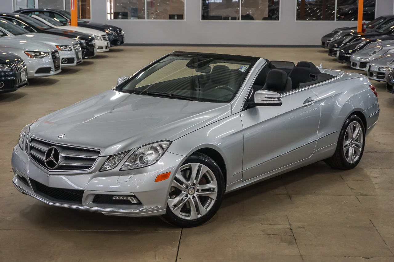 pre owned 2011 mercedes benz e class e350 convertible