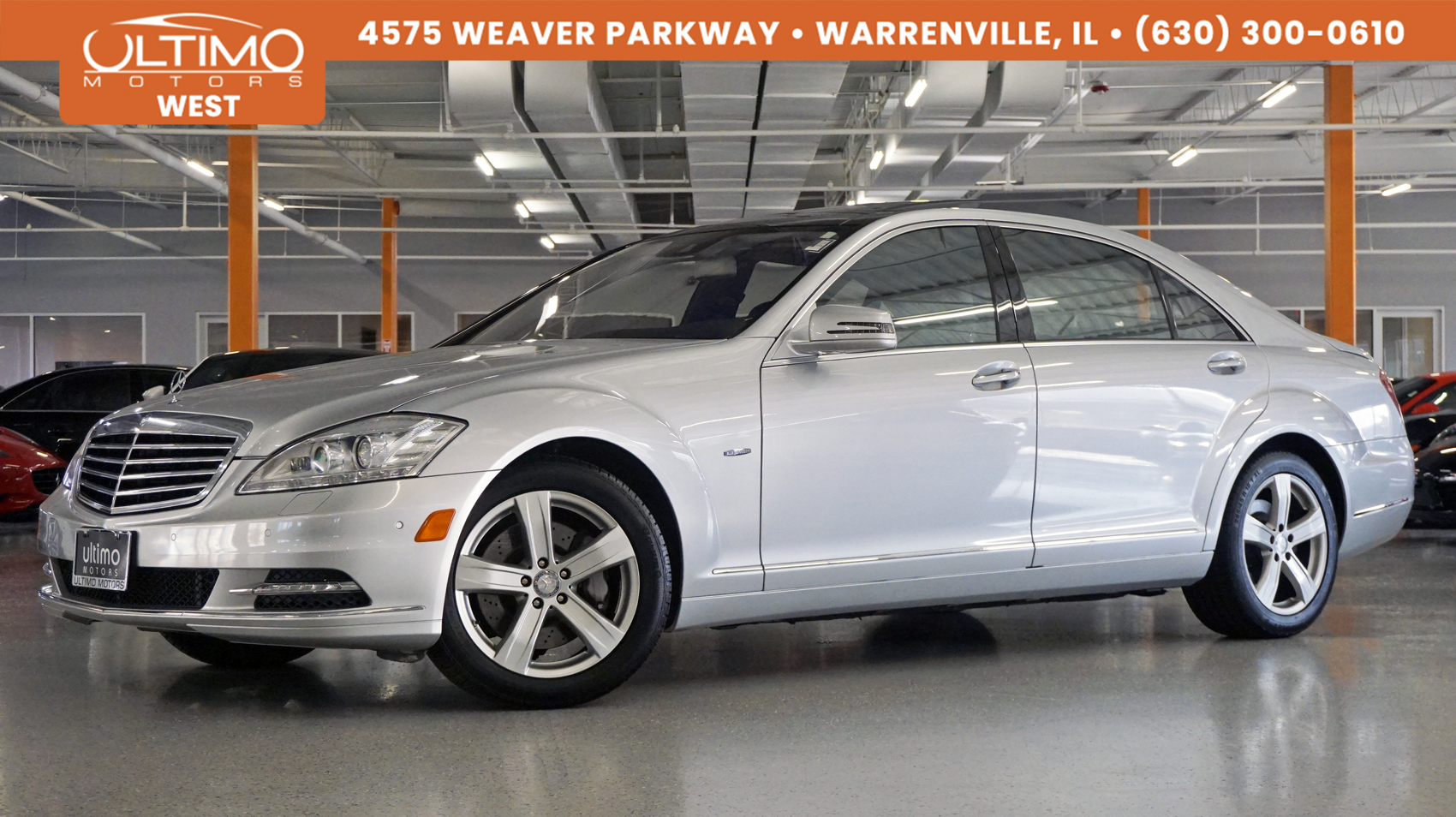 Pre-Owned 2012 Mercedes-Benz S-Class S 550 Sport All Wheel Drive, Panoramic Sunroof