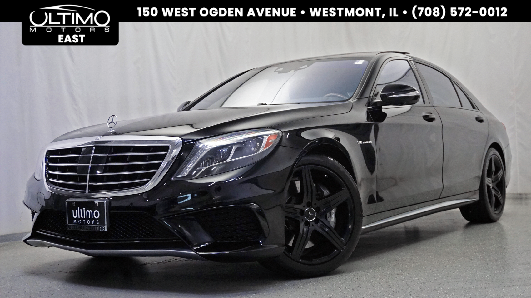 Pre Owned 2014 Mercedes Benz S Class S 63 AMG® Driver Assistance
