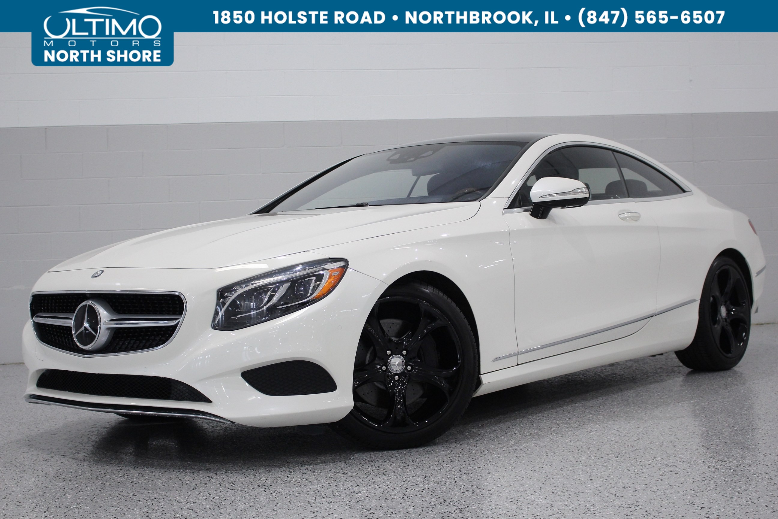 Pre Owned 2015 Mercedes Benz S Class S 550 4Matic 1 Owner P1