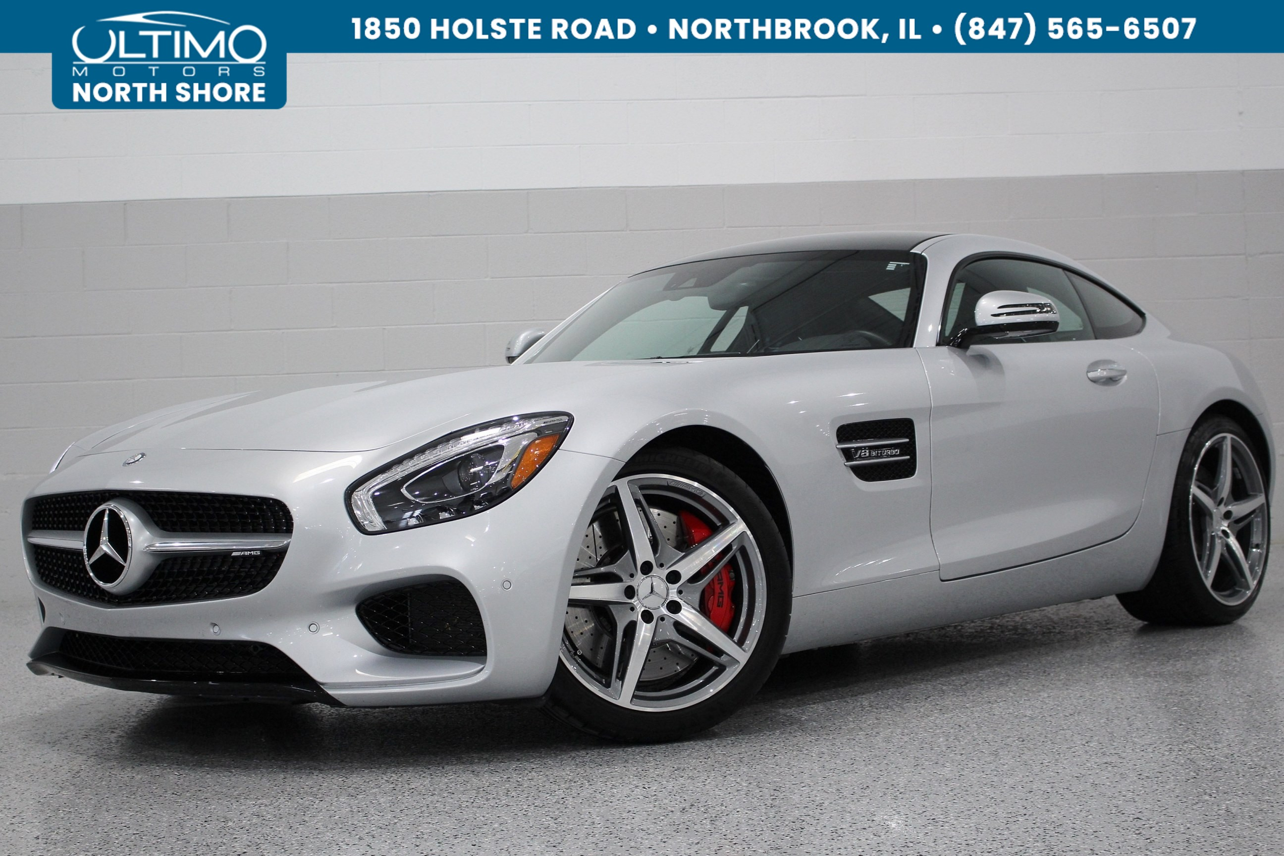 Pre Owned 2016 Mercedes Benz AMG GT S Panorama Roof Lane Assist w