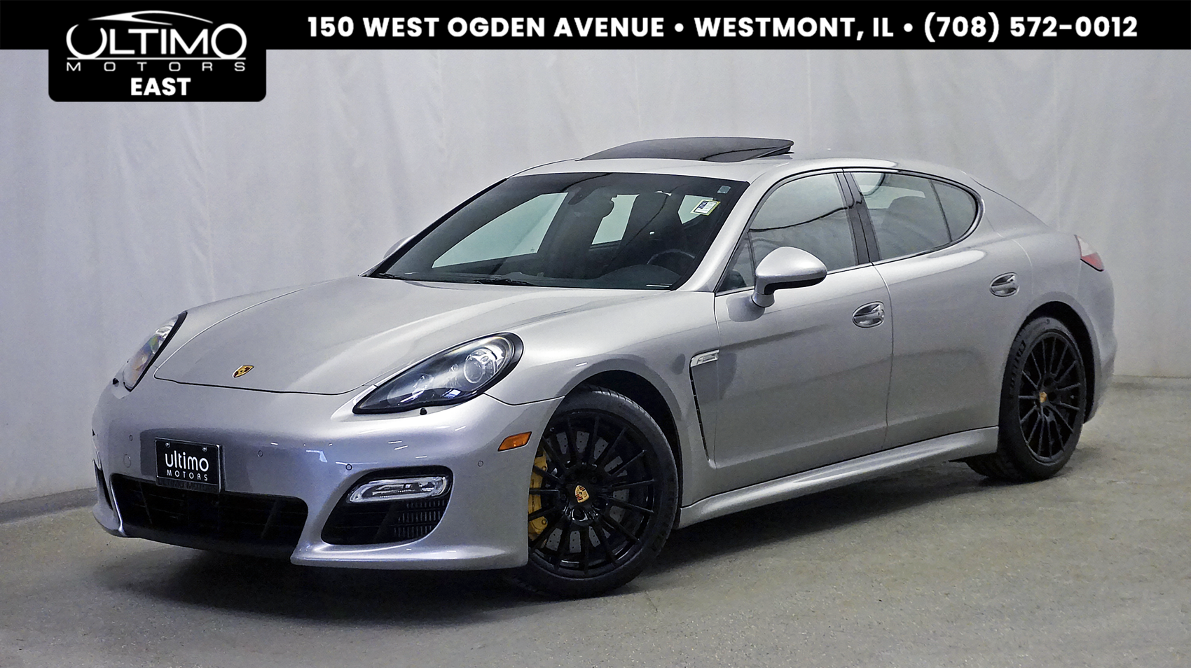 Pre-Owned 2013 Porsche Panamera Turbo Ceramic Brakes, Comfort+, PDCC, LCA, Burmester Sound $184,940 MSRP