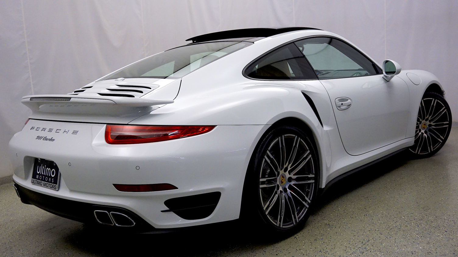 Pre Owned 2015 Porsche 911 Turbo Sport Chrono Pkg Premium