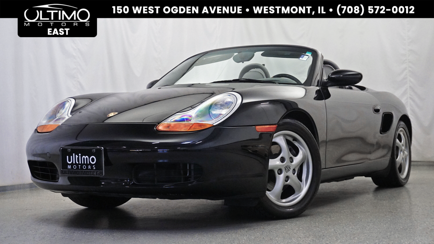 Pre-Owned 2000 Porsche Boxster 5-Speed Manual, Removable Hard Top, 1-Owner!