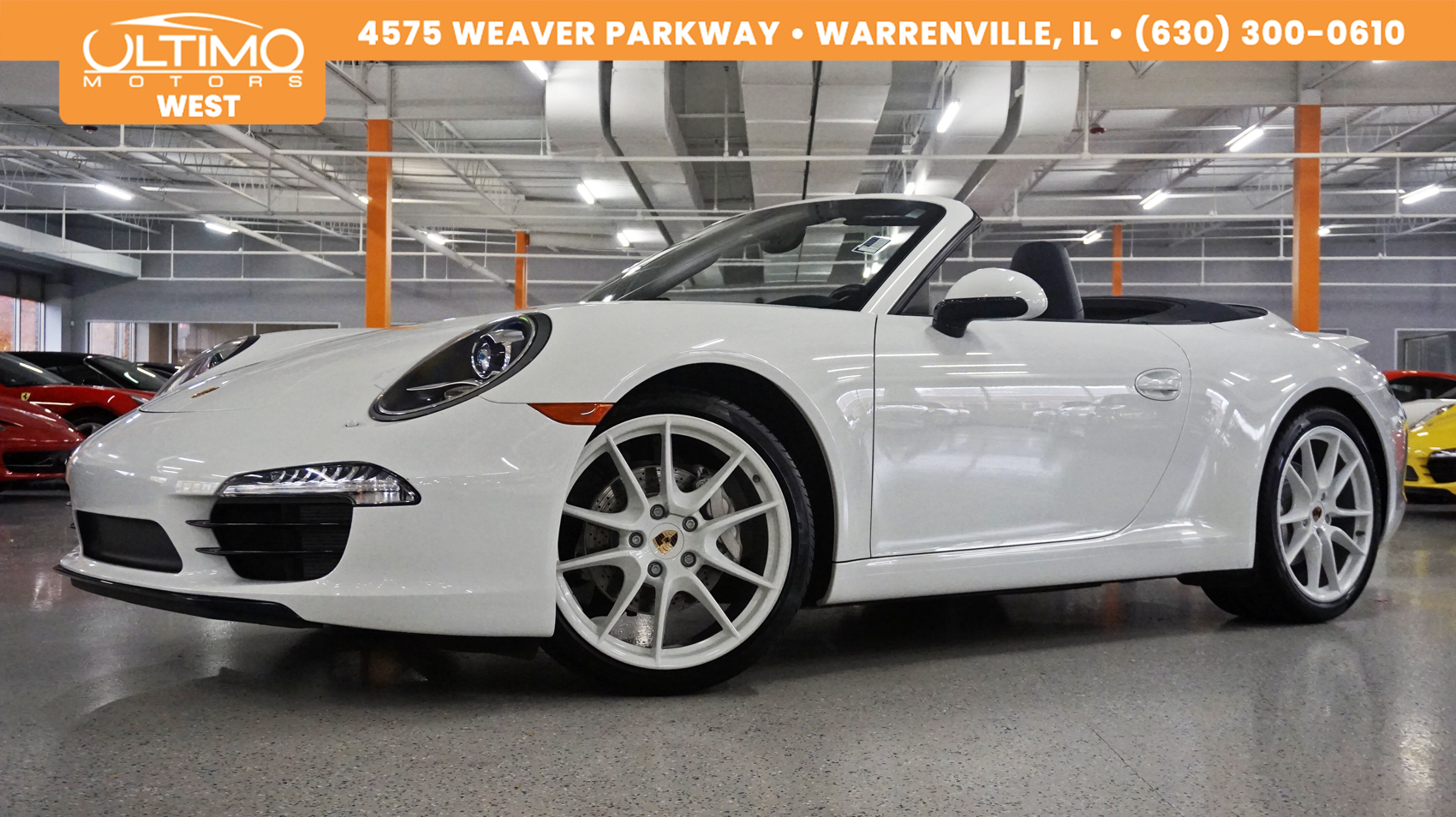 Pre-Owned 2015 Porsche 911 Carrera 20inch S wheels, PDLS, Bose, White Dials, Msrp $115,130