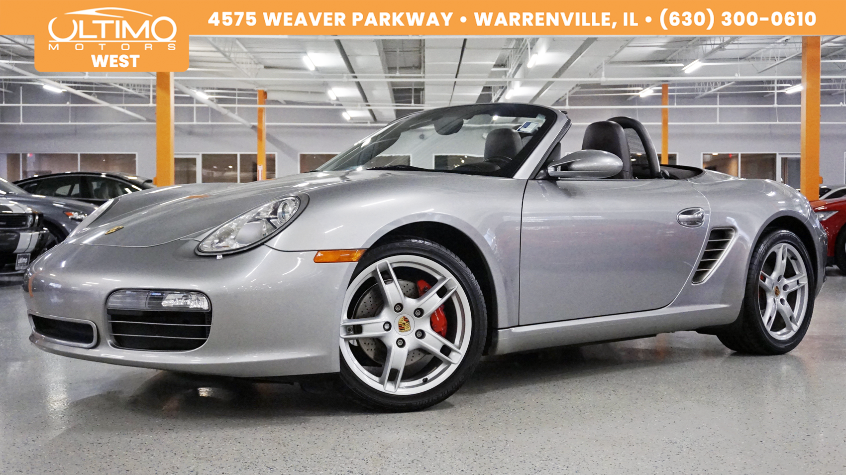 Pre-Owned 2006 Porsche Boxster S 6-Speed Manual, Cocoa Top, Heated Seats MSRP $66,455.00