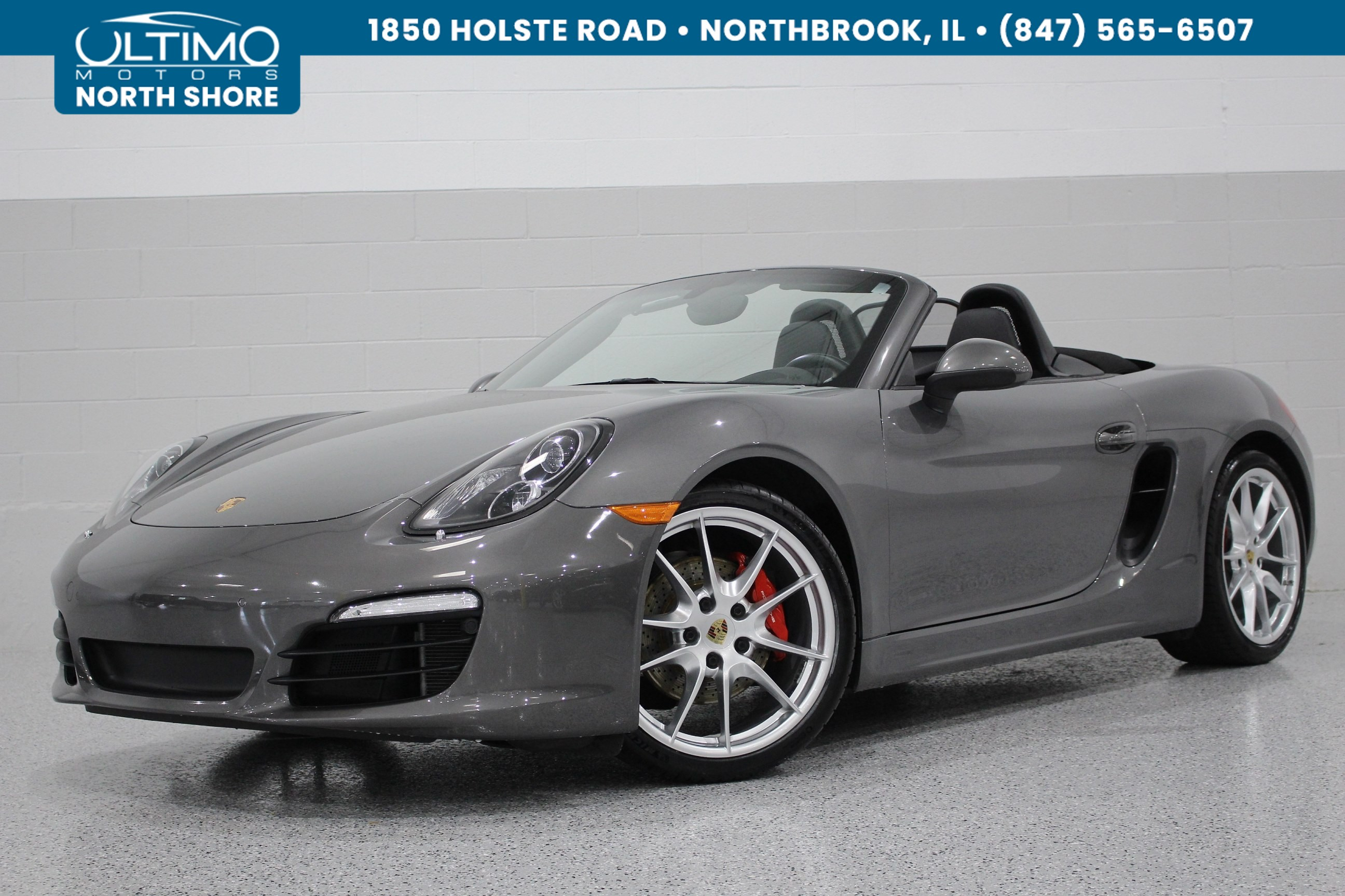 Pre-Owned 2015 Porsche Boxster S, 20 In Carrera Wheels, PDLS, ParkAssist, Sport Seats, Premium +, Bose.