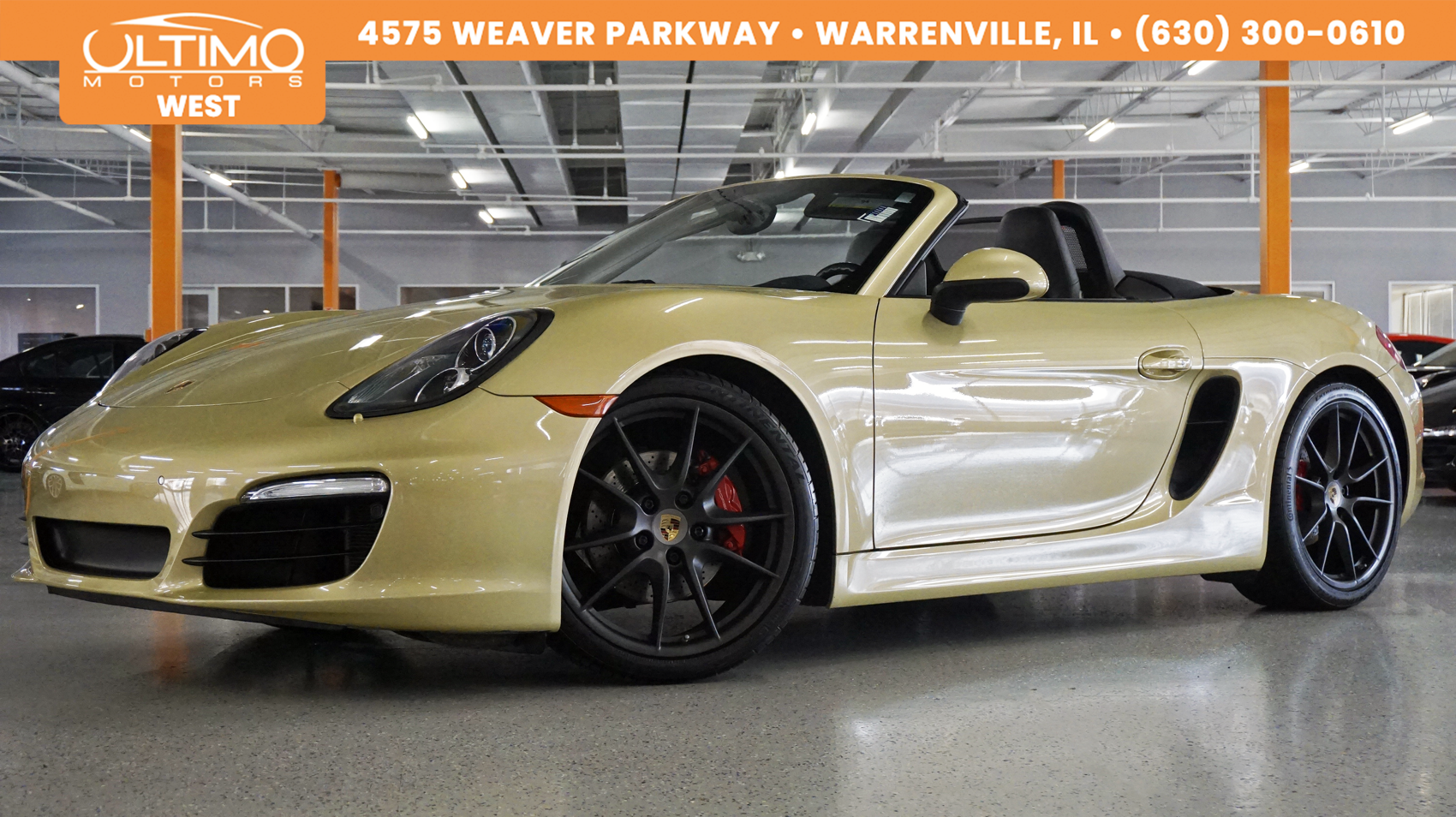 Pre-Owned 2015 Porsche Boxster S, PASM, Sport Exhaust, Sport Chrono, Msrp$90,825