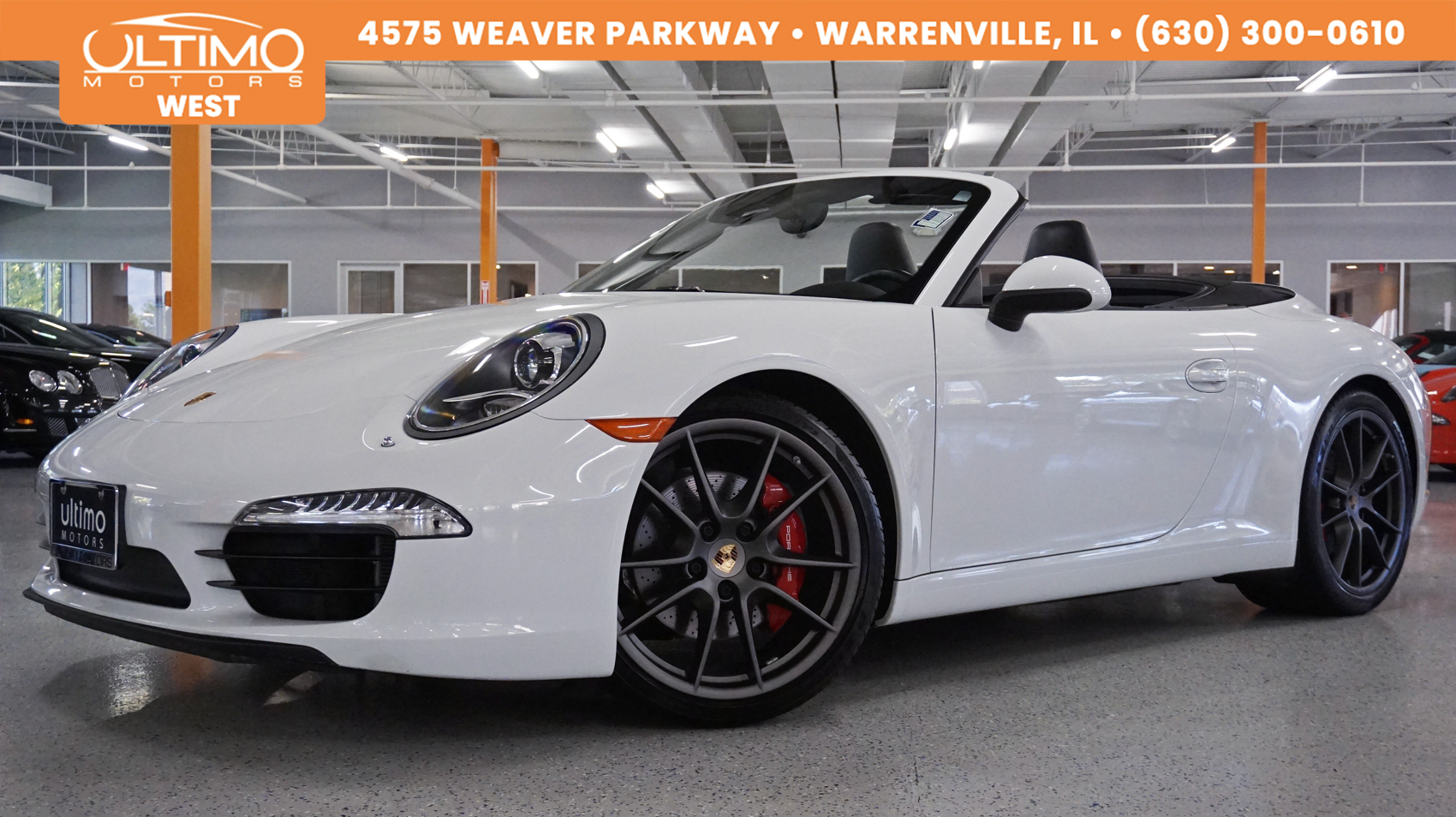 Pre-Owned 2014 Porsche 911 Carrera S, 7-speed Manual, Msrp $117,805