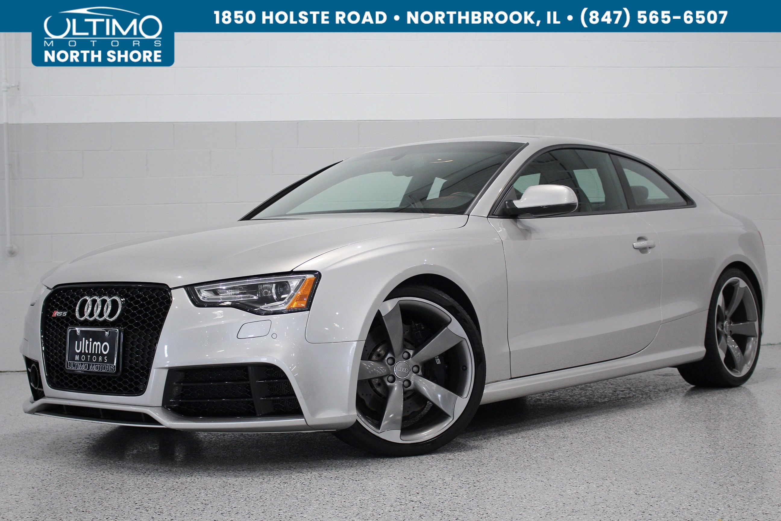Pre-Owned 2013 Audi RS 5 MMI w/ Nav.+ B&O Driver Assist Titanium Package Sports Exhaust MSRP $81,170