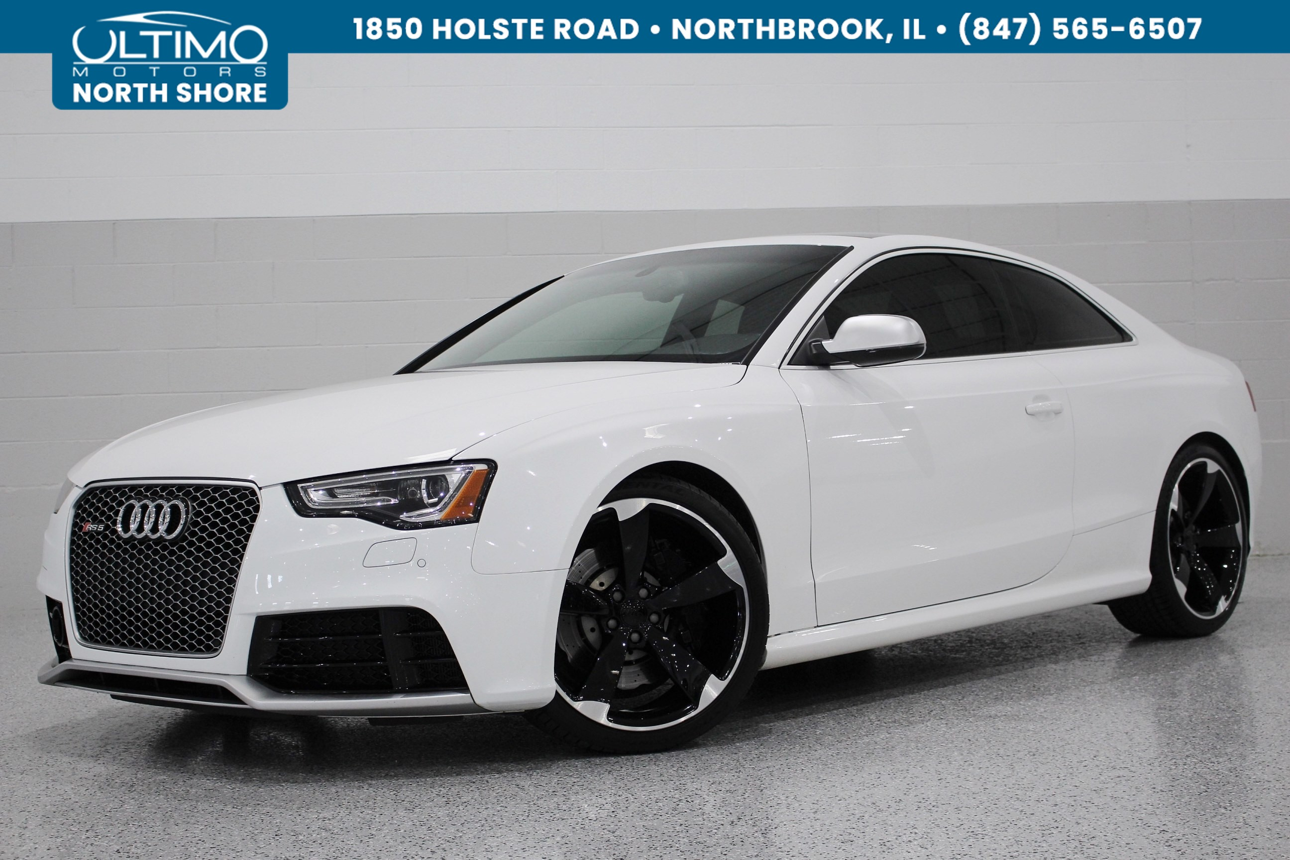 Pre-Owned 2013 Audi RS 5 MMI Nav. Plus, Driver Assist, Sports Exhaust, 20 Inch Wheels, Aluminum Optic. MSRP $79,345
