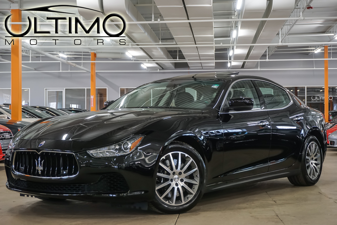 Pre Owned 2014 Maserati Ghibli S Q4 Sedan In Warrenville