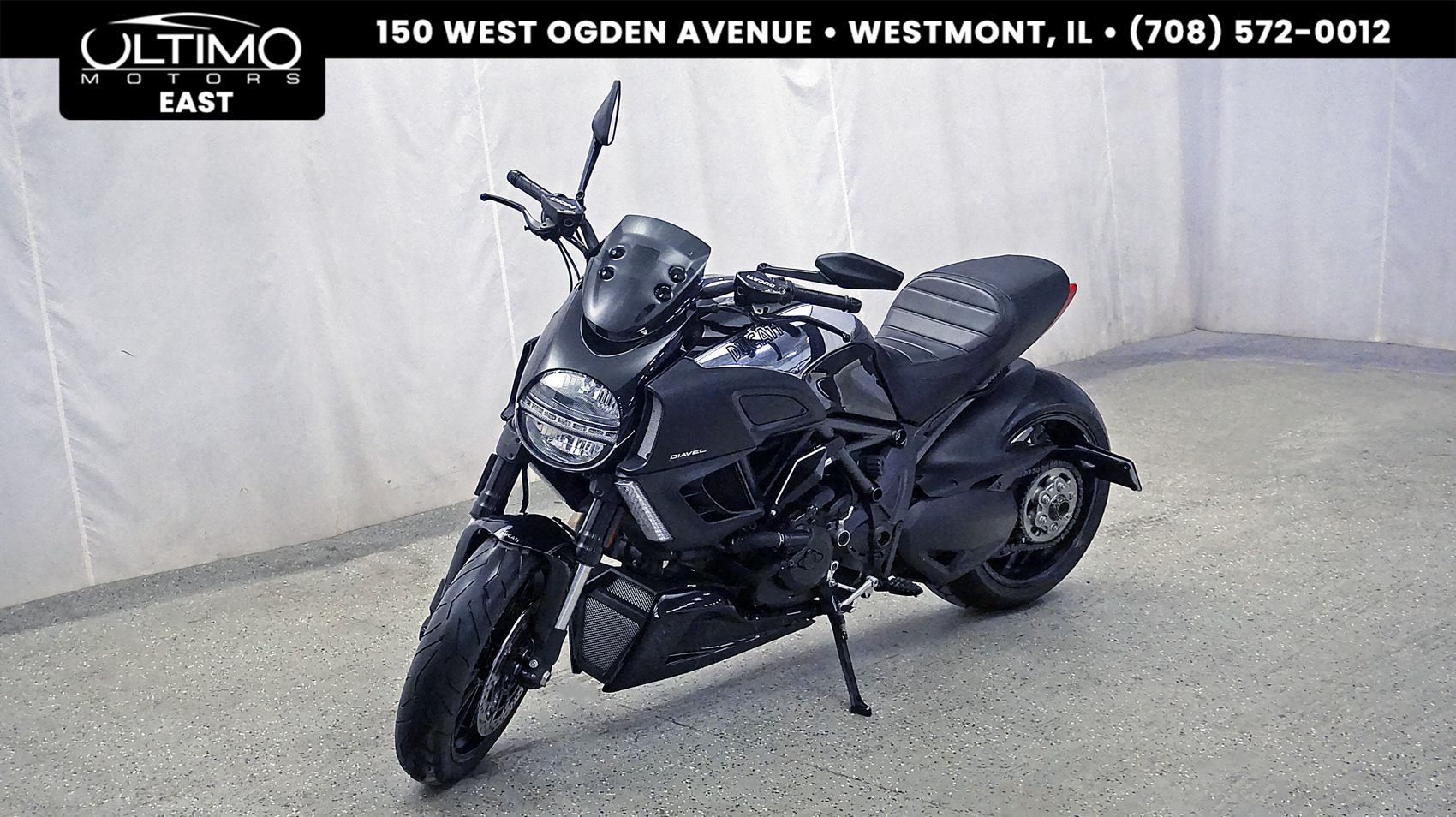 Pre-Owned 2013 Ducati DIAVEL Chrome Edition