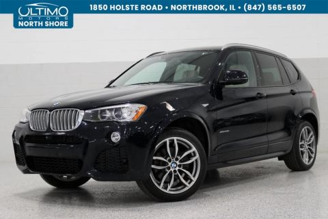 Pre-Owned 2016 BMW X3 xDrive28i M Sport, Driver Assist, Lighting, Tech, Surround View