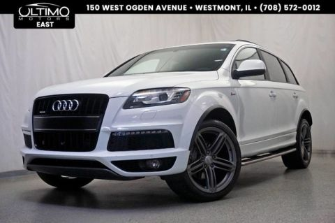 Pre-Owned 2015 Audi Q7 3.0T S line Prestige 21-Inch Wheels, 3rd Row, BOSE Surround Sound