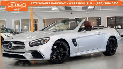 Pre-Owned 2017 Mercedes-Benz SL-Class SL 550